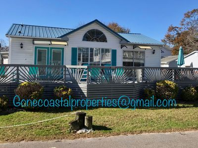 Photo for Pond View 2 Bedroom 2 bath in cul-de-sac located in Ocean Lakes
