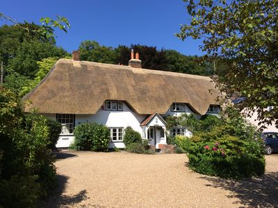 Photo for 17th Century Thatched Cottage Annex (flat) In Nether Wallop, Hampshire