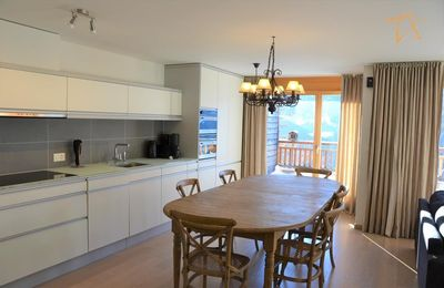 Photo for Outside : Modern apartment  for 5 people, balcony-terrace, beautiful south view, located at tne entr