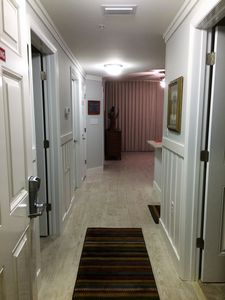 Entry Hallway with Wainscoting