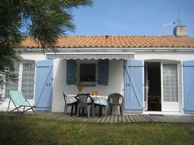 Photo for Les Tamaris, 2-star gîte 200 meters from the sea and beaches.