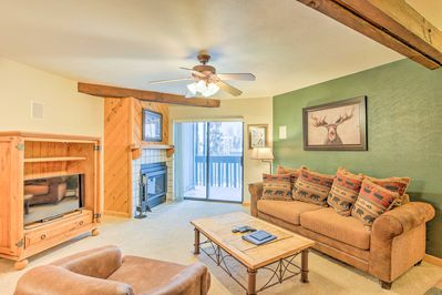 Immerse yourself in the beauty of The Rockies from this vacation rental condo!