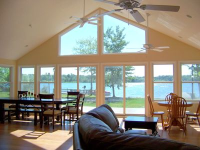 Photo for Sunset Beach House-Lakefront/Private Beach/Dock-S. Haven/Saugatuck*BOOK 2019*