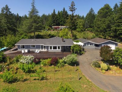 Photo for Beautiful Views!  Dry Creek Valley Retreat with Deck & Pool, 5 min to Healdsburg