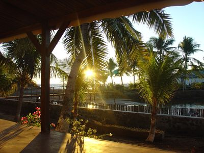 Photo for House sea view, on the beach of Ambondrona in Nosy-be
