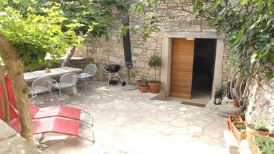 Photo for Fig Tree House **** (4+2) A Traditional Istrian Stone Cottage in Bale