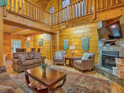 Photo for Newly Remodeled Pigeon Forge Cabin-Walk to Parkway