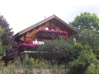 Photo for family cottage in the village of Huez