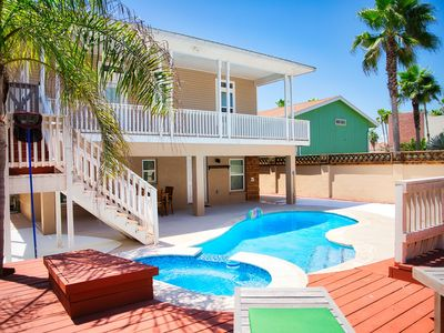 Photo for BEAUTIFUL BEST BEACH VERNA HOUSE WITH PRIVATE POOL! BOOK NOW 2 MIN WALK TO BEACH