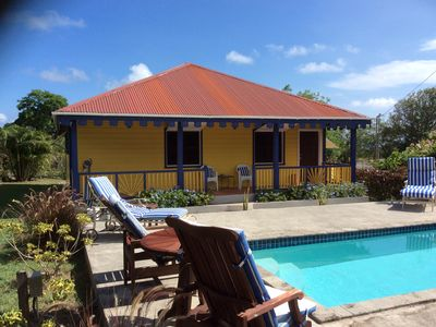 West Indian cottage with private pool near Montpelier hotel