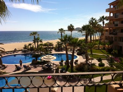 Photo for Beautiful Beachfront Condo in Luxurious El Zalate Los Cabos - Ocean Views