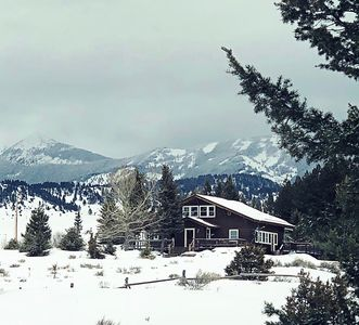 """Photo for """"THE BOWMORE""""- Rustic Yet refined Cabin at the Base of the Crazy Mountains"""