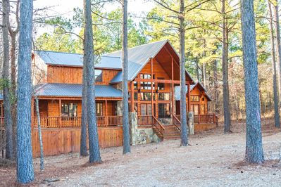 Brand New Broken Bow Cabin In The Woods W Gorgeous Views New Hot Tub Broken Bow