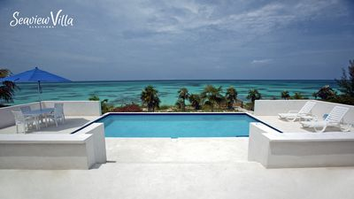 Photo for Seaview Villa - Brand New Beachfront Home w/Pool