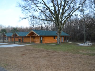 Photo for Luxurious Romantic Log Cabin North of Shreveport