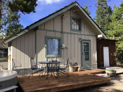 Monthly rental..great pricing!! Cabin on 40 acres with trails and views!!