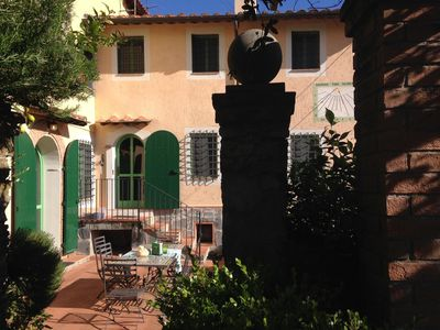 Photo for La Meridiana - Rustic villa on the hills between Lucca and Viareggio