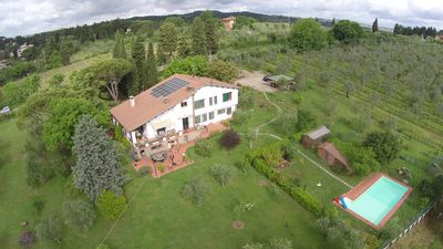 "Photo for ""La Cipressina"" apartment  in Chianti with swimmingpool"