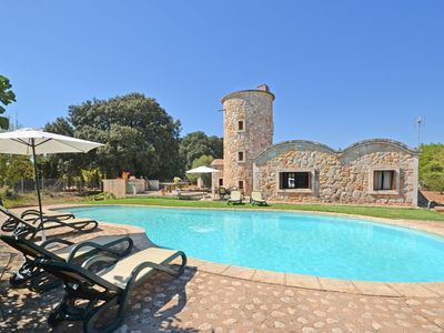 Photo for MOLINOT - Country house with swimming pool in Buger