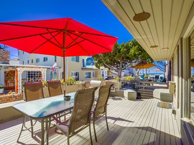Photo for 5-Star Private Single Family Beach Home- Ocean View Deck, 3-Parking!