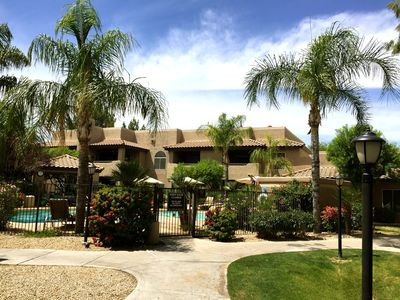 Photo for Best Value from $79/Night~1st Floor~Steps from Pool/Spa~Desired North Scottsdale