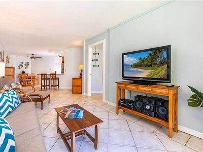 Photo for Spacious & Comfortable ground floor 1bd condo at Kauhale Makai, sleeps 4. #122