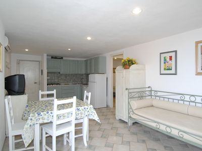 Photo for CR 315_Apartment, surrounded by greenery, with sea view and swimming pool.