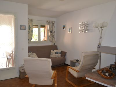 Photo for Villa 4-6 persons in quiet residence at 350 meters from the beach.