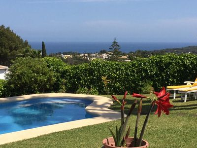 Photo for Fantastic villa with fantastic sea views