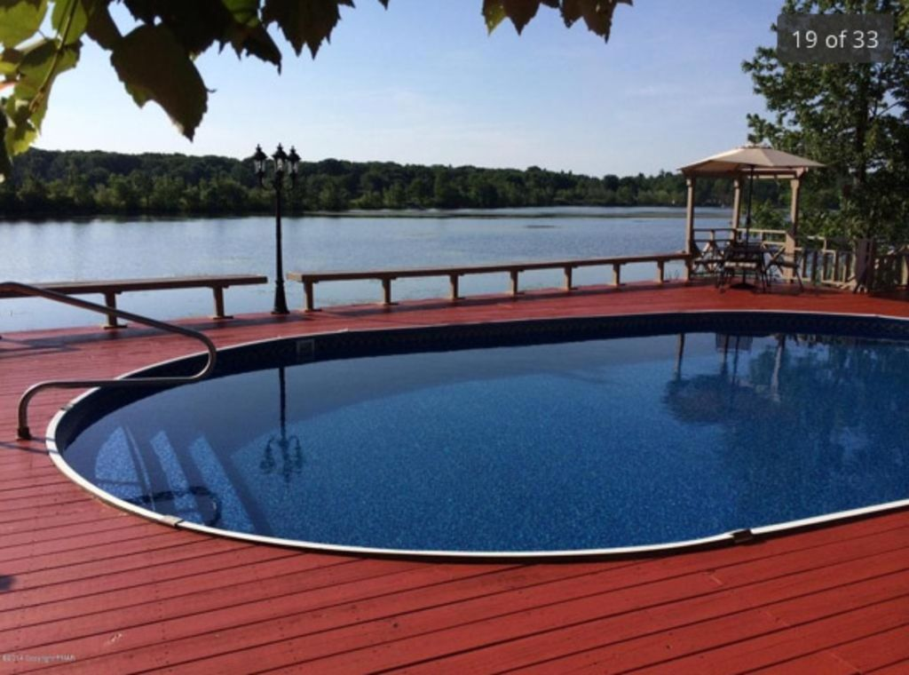 Poconos Lakefront With Private Pool Hot Tu Homeaway