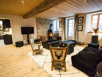 Photo for 190 sqm luxury apartment between ST GERVAIS MONT BLANC and LES CONTAMINES