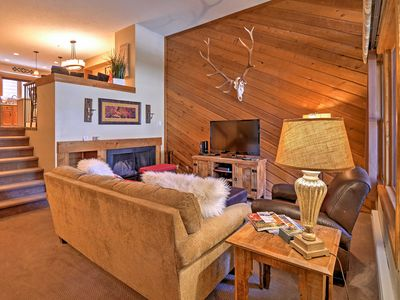 Photo for Charming Townhome -Walk to Breckenridge Ski Resort