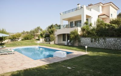 Photo for Archos Villa with Private Pool, 7 km to the Beach & Jacuzzi & BBQ+Amazing Views