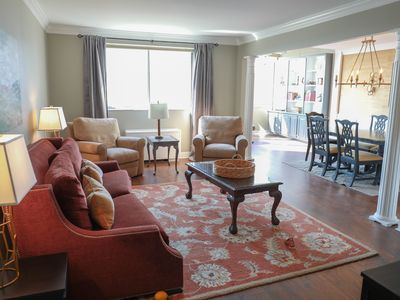 Photo for NEW LISTING - Amazing condo in heart of downtown. Rare- 2 free parking spots