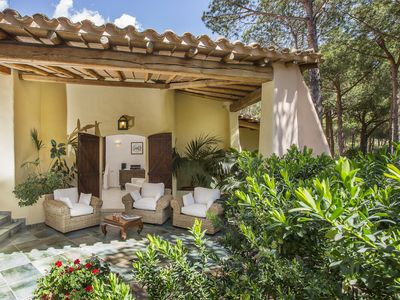 Photo for Family-friendly Villa Capo Boi, close to private beach