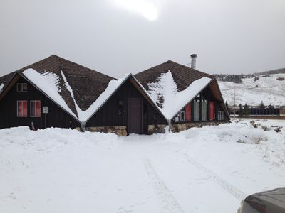 Photo for Fun & Cozy Cabin.  Come Play In Winter And Summer Activities.