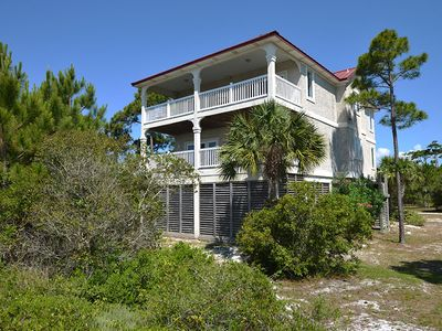 Photo for ANTICIPATE BREATHTAKING BAY AND GULF VIEWS and sunsets overlooking Apalachicola Bay.