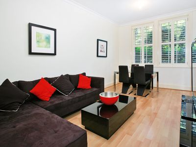 Photo for Spacious Executive 1BR Potts Point Apartment in Quiet Cul-de-Sac