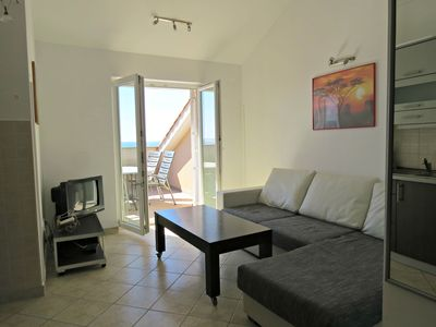 Photo for 2BR Apartment Vacation Rental in Novalja - island Pag