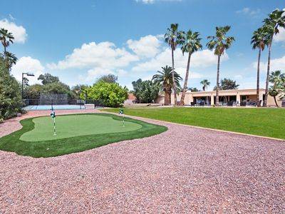Photo for SCOTTSDALE TRAVELERS DREAM VILLA w/SPORTCOURT+PUTTING GRN+HEATED POOL+POOL TABLE