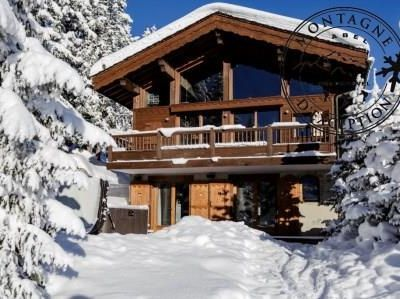 Photo for Chalet Eglantier: Wonderful  chalet on slopes with swimming pool and outdoor jacuzzi.