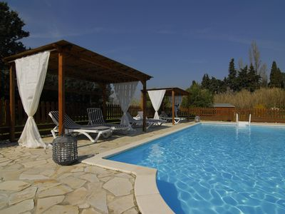 Photo for Gîte de Charme VENTOUX - With swimming pool, Loriol du Comtat, Vaucluse, Provence.