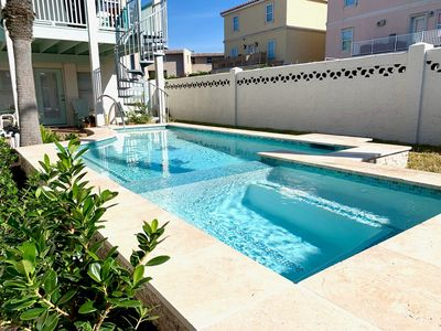 Photo for 3 levels w/ private pool & close to beach!
