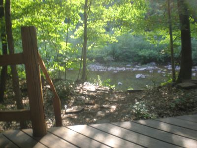 Log Cabin on Sleepy Creek- Enjoy the Seclusion and Sounds of the Water