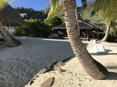 Photo for Moorea Sunset Beachfront Villa - Polynesian Luxury Villa