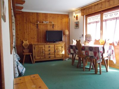 Photo for App 4 Two-rooms apartment centrally located close to the slopes