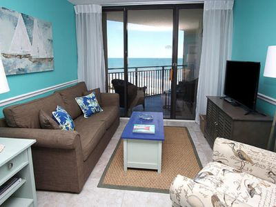 Photo for Ocean Forest Plaza 1603, Lovely 1 BR Ocean View Condo with Indoor Outdoor Pool and Hot Tub