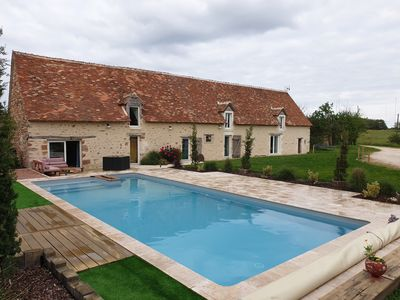 Photo for Cottage on the farm with pool