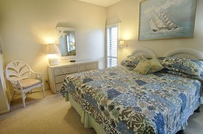 Bedroom with full bath