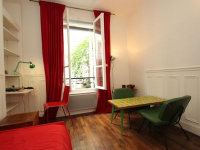 Photo for The Bohemian Montparnasse Nest - AD2 - One Bedroom Apartment, Sleeps 4